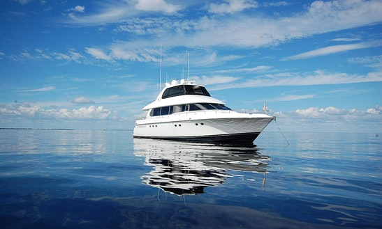 76' Lazzara Rental In Cape Coral