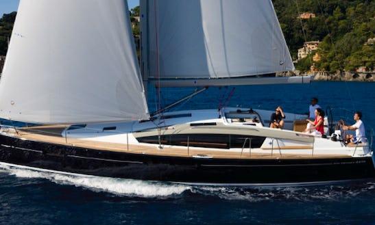 44' Jeanneau Sailing Yacht Charter In Deltaville, Virginia