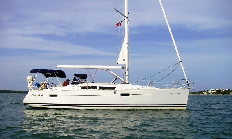 "The 2009 Jeanneau 39i ""Best Mode"" Sailing Yacht Charter in Deltaville, Virginia"