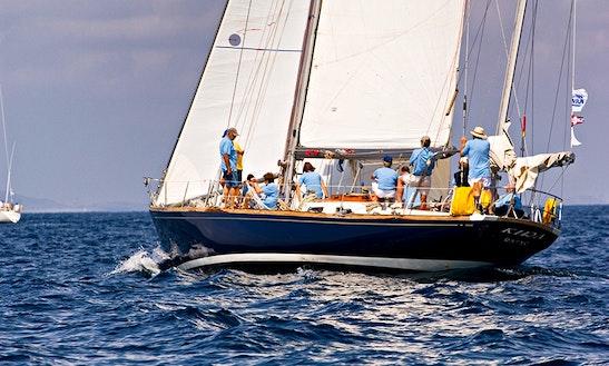 Charter Swan 55