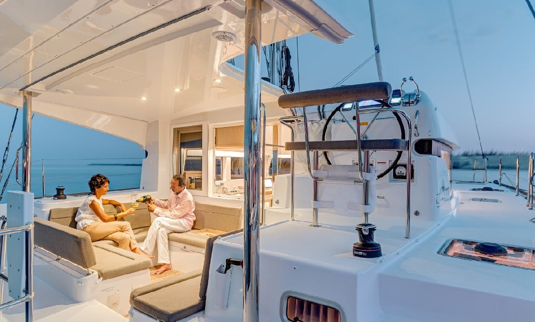 Charter 39' Cruising Catamaran in Lefkada, Greece