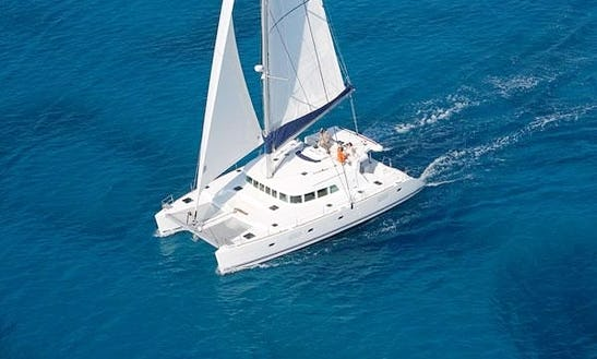 Charter 50' Lagoon Cruising Catamaran In Corfu, Greece