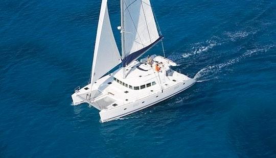 Charter 50' Lagoon Cruising Catamaran In Corfu, Greece