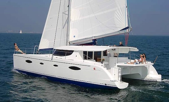 Charter 48' Salina Cruising Catamaran In Corfu, Greece