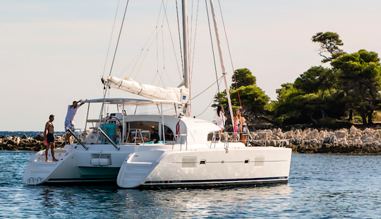 Charter 38' Lagoon Cruising Catamaran In Corfu, Greece