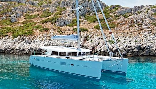 Charter 40' Cruising Catamaran In Athina, Greece