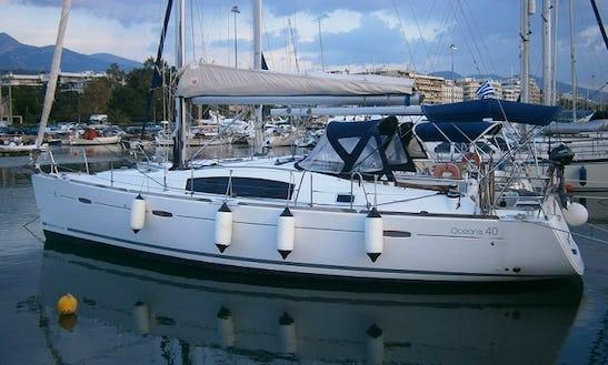 Charter 40' Beneteau Oceanis Cruising Monohull In Athina, Greece