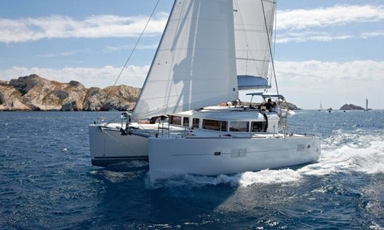 Charter 39' Lagoon Cruising Catamaran In Corfu, Greece