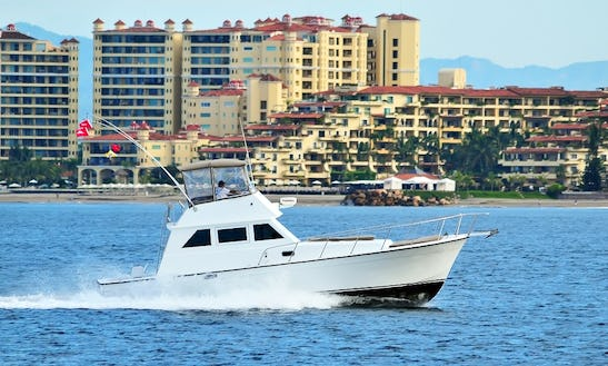 40ft Custom Luxury Fishing Charter In Puerto Vallarta