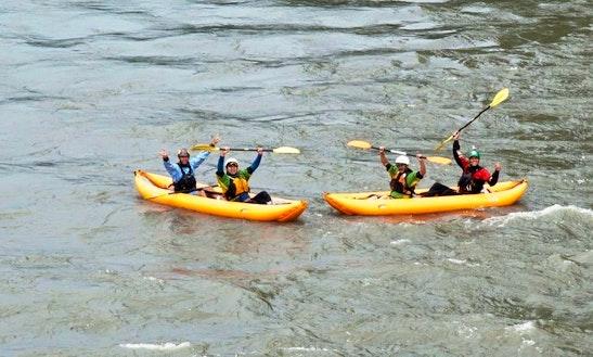Inflatable Kayaking Trip In Tena River, Ecuador