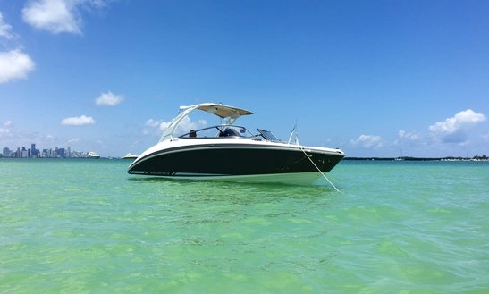 Discover Miami On A Brandnew 24ft. Yamaha Jetboat