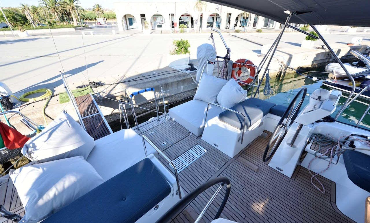 Beneteau 60 sailing yacht available for charter in Southern Italy