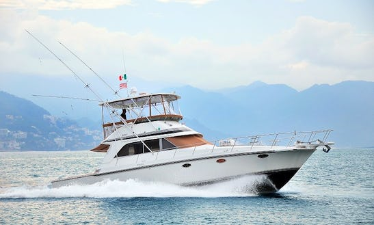46ft Trojan Fishing Charter In Puerto Vallarta