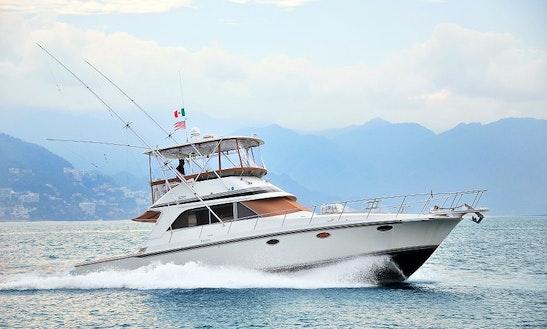 46ft Trojan Fishing Charter In Puerto Vallarta