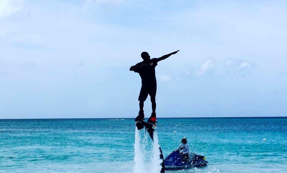 Enjoy Flyboarding in George Town, Cayman Islands