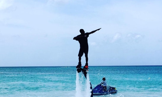 Enjoy Flyboarding In George Town, Cayman Islands