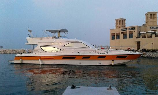 Charter A 30 Person Luxury Power Mega Yacht In Dubai, Uae