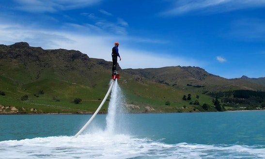 Enjoy Flyboarding In Lyttelton,canterbury