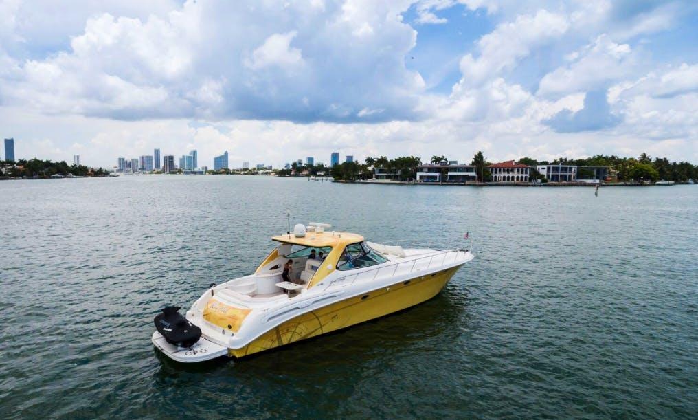 54′ SeaRay Sundancer in Miami Beach, Florida