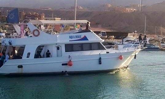 Charter Aqua Holic Passenger Boat in Suez Governorate, Egypt