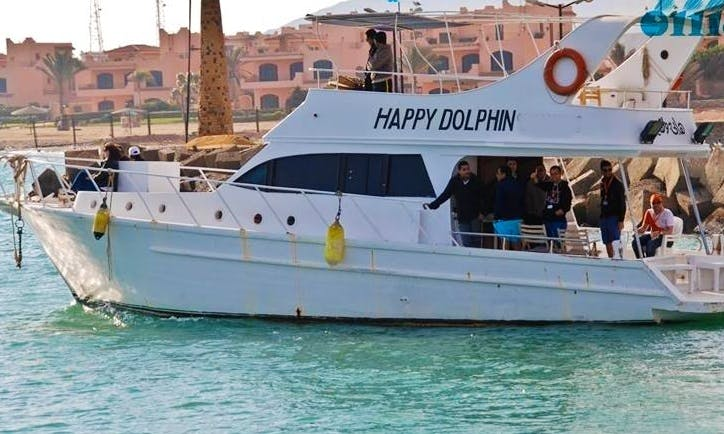 Charter Happy Dolphin Motor Yacht in Suez Governorate