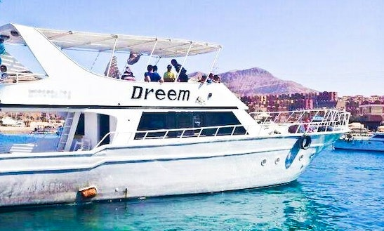 Charter Dreem Motor Yacht In Suez Governorate