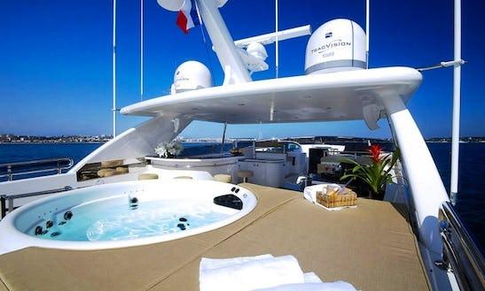 Power Mega Yacht Rental In Marbella