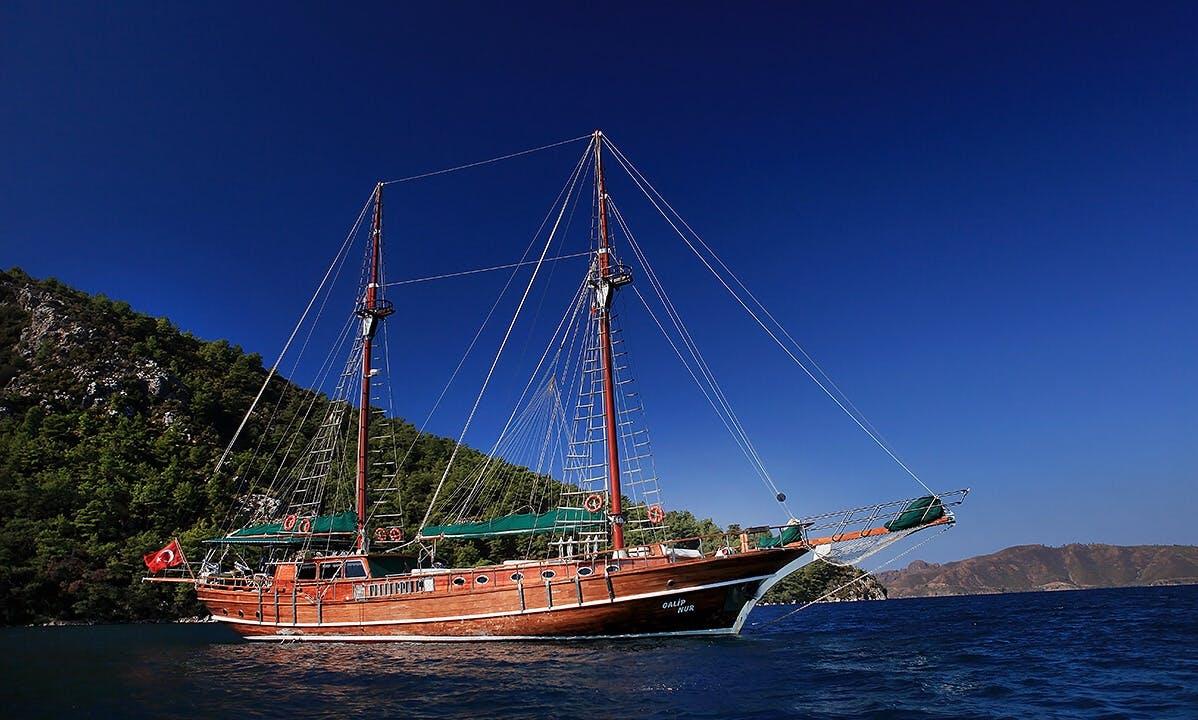 Charter 98' Galip Nur Gulet in Herceg Novi, Montenegro