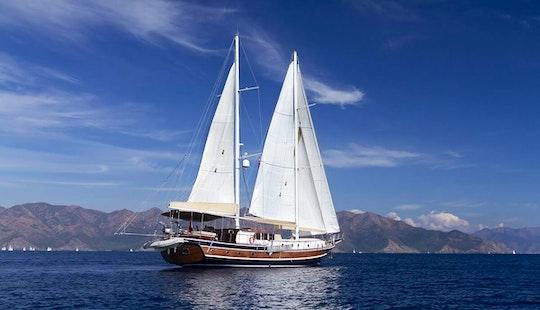 Charter 79' Derya Deniz Gulet In Herceg Novi, Montenegro