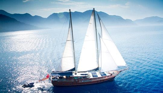 Charter 95' Diva Deniz Gulet In Herceg Novi, Montenegro