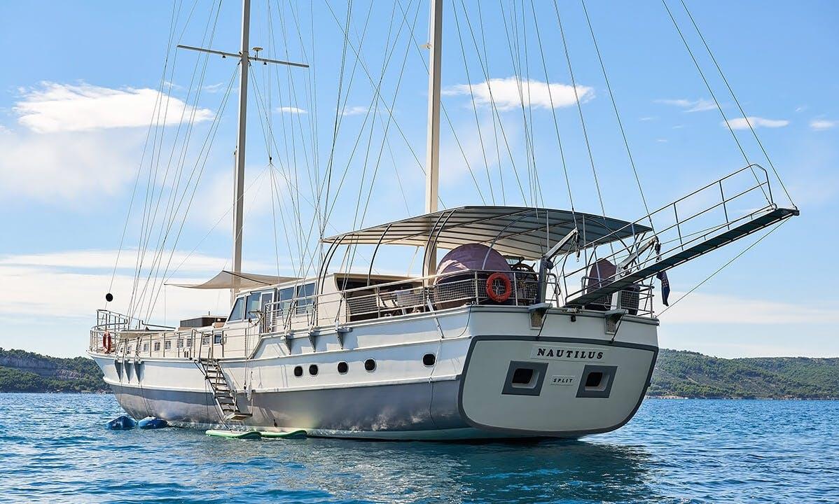 Charter 102' Nautilus Gulet in Split, Croatia