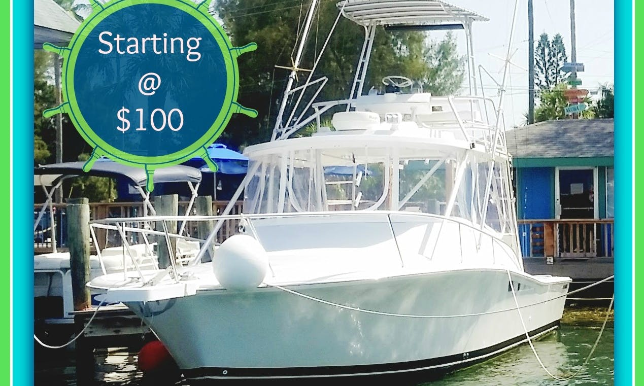 Fishing Charters for $99 per person/day in Cortez, Florida