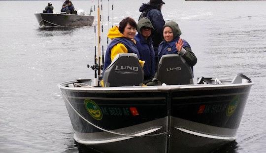 24' Bass Boat Charter In Ketchikan, Alaska