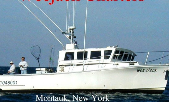 38ft Custom Duffy Sportfisherman Boat Charter In Montauk, New York