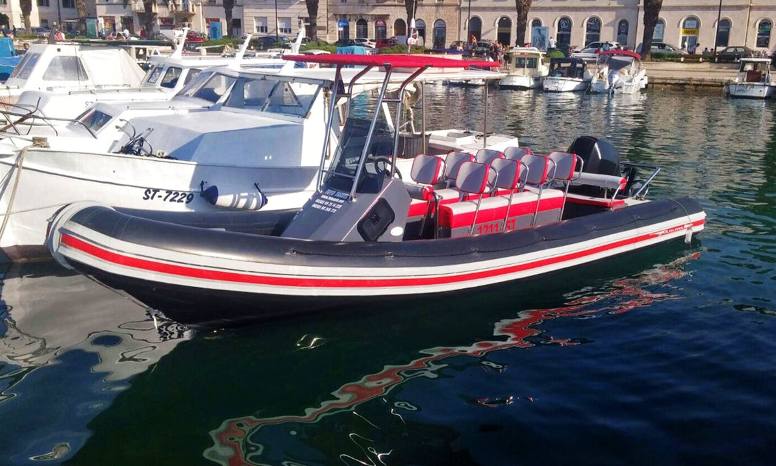 Rent this Lolivul 7.4 RIB to Cruise with or without Skipper in Blace
