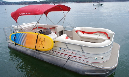 Rent The Suntracker Pontoon For 13 People In Austin, Texas