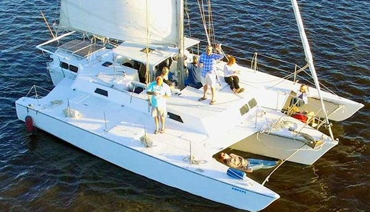 Charter 37' Trimaran In Charleston, South Carolina