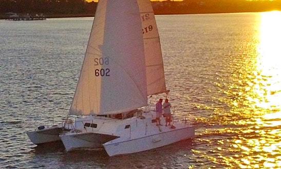 Charter 37' Trimaran In Charleston, South Carolina