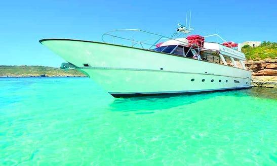 Enjoy St Paul's Bay, Malta On Motor Yacht
