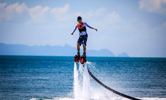 Enjoy Flyboarding In Ko Samui, Chang Wat Surat Thani