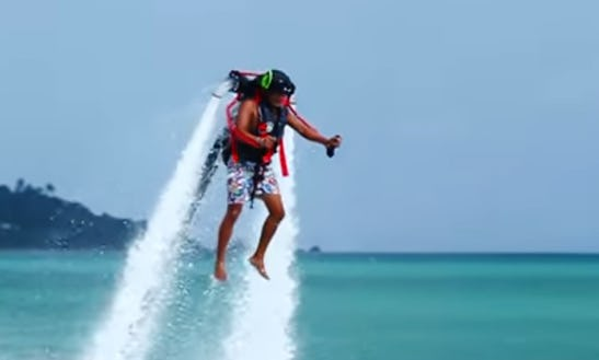 Enjoy Jet Pack In Ko Samui,chang Wat Surat Thani