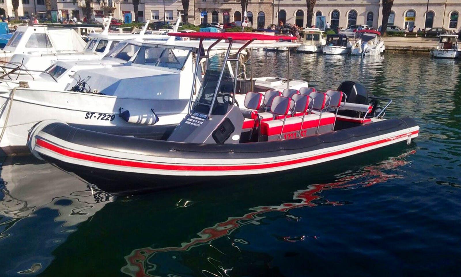 Boat Tour In Blace, Croatia