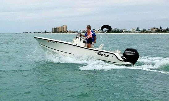 18' Mako Cc Rental In Tampa Bay Region, Florida