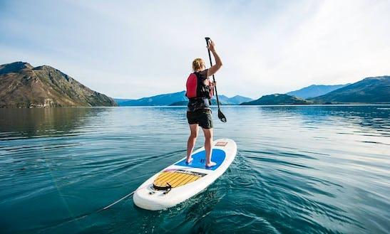 Guided Stand Up Paddleboard Tours On Lake Wanaka