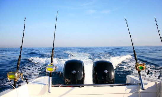 Enjoy Fishing In Denpasar, Bali On Center Console