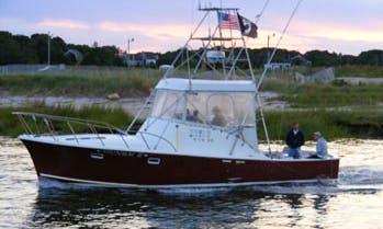 "Fishing Charter On 36ft ""Stunmai II"" Yacht In Orleans, Massachusetts"