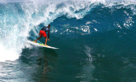 Ride On The Waves Of Bali, Indonesia