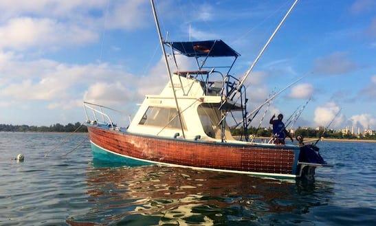 Enjoy Fishing In Malindi, Kenya On Snark Sport Fisherman