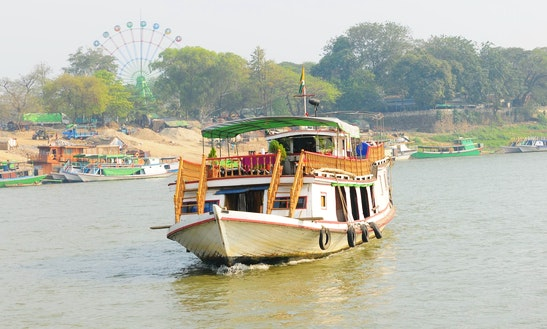 Enjoy Mandalay - Mingun Tour In Yangon, Myanmar On 81' Boat
