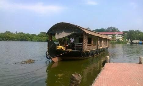 Charter a Houseboat in Kollam, Kerala